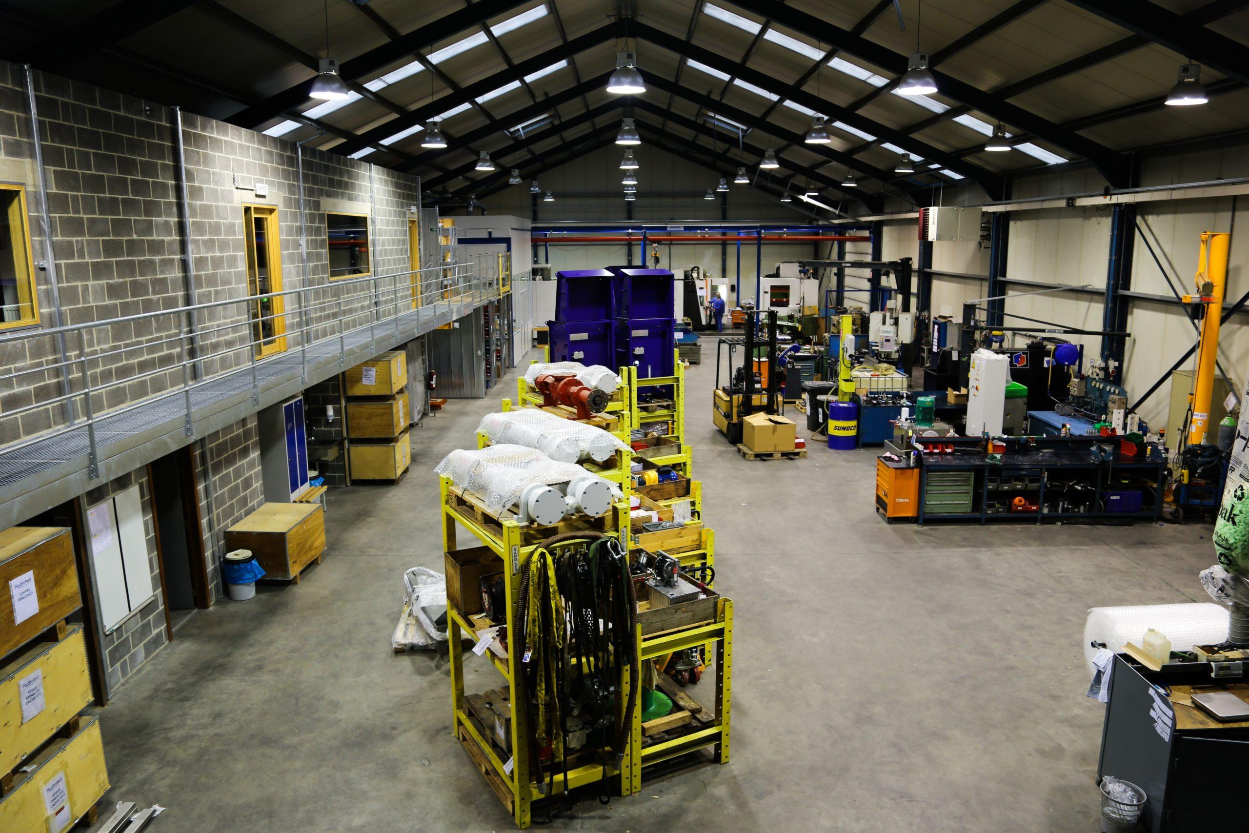 Notre atelier dédié à l'oléo-hydraulique et au pompage